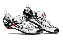 Sidi T-3 Air Carbon Schuhe Men white/black